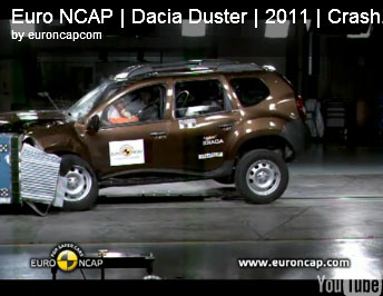 dacia duster a obtinut doar 3 stele la testele euroncap noutati auto. Black Bedroom Furniture Sets. Home Design Ideas