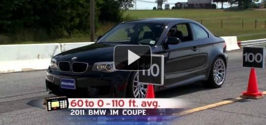 Testdrive BMW 1M Coupe