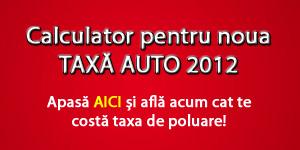 Calculator Taxa Auto 1 Ianuarie 2012
