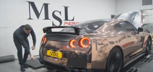 Nissan GT-R pe dyno