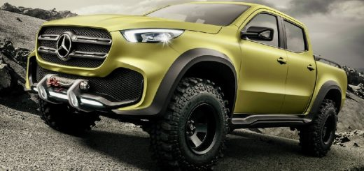 mercedes benz x class powerfull adventurer
