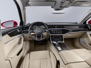 Interiorul noului Audi A6
