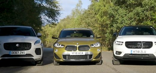BMW X2 vs Jaguar E-Pace vs Volvo XC40